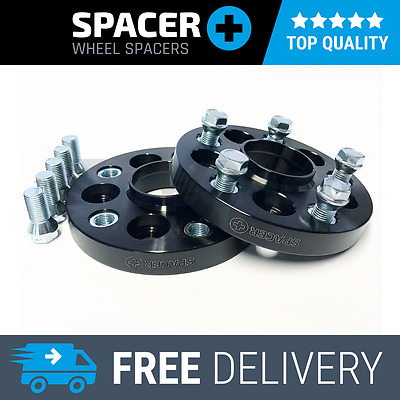 Car 5x100 To Wheel 5x130 25mm Hubcentric Spacers PCD Adaptors + Bolts 1 Pair