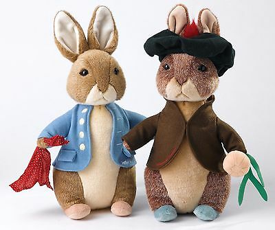 Gund Beatrix Potter Peter Rabbit and Benjamin Bunny Limited Ed 500 40cm A28257
