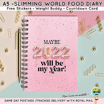 3mth DIET DIARY, FOOD, SLIMMING WORLD COMPATIBLE, TRACKER, JOURNAL WEIGHT LOSS
