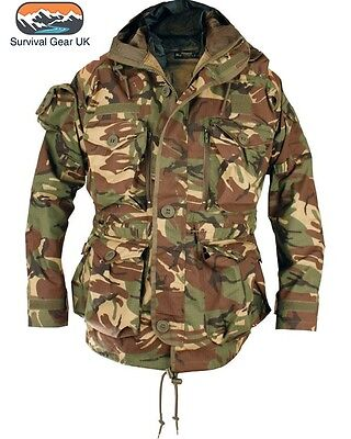 SAS Windproof Smock British Dpm Army Military Jacket - ALL SIZES - FREE DELIVERY