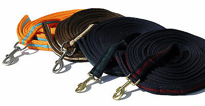 Windsor Supersoft Padded Lunge Rein/Line - All colours in stock