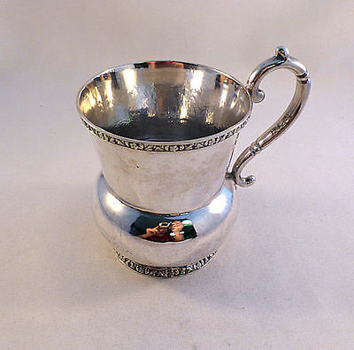 Coin Silver Higbie & Crosby 1825-1835 NY, NY Large Cup