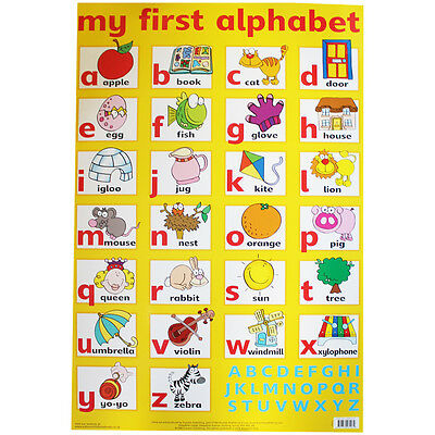 My First Alphabet Wall Chart, Toys & Games, Brand New
