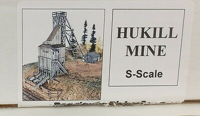 "Sn3 S CRAFTSMAN RAGGS CLEAR CREEK,COLORADO ""HUKILL MINE "" KIT-UNSTARTED"