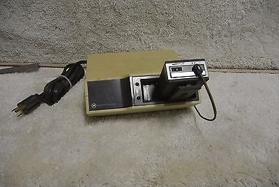 Vintage Motorola Fire EMS Police Pager w Base Minitor Director 8274