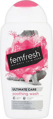 Femfresh Intimate Skin Care Ultimate Care Soothing Wash (250ml)