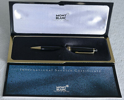 Montblanc Meisterstuck 165 0.7mm Mechanical Pencil, Black and Gold