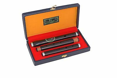 Irish D Flute African Black Wood Brand New Pro Wooden Hard Case Length 58cm 3Pcs
