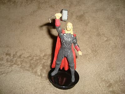 Thor The Dark World Movie Collectible Cup Topper Figure PVC 4""