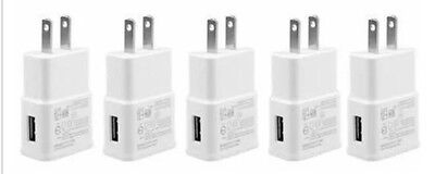 5X LOT 2A Wall Charger AC Power Travel Wall Adapter for Samsung LG Universal