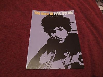 The Best of Bob Dylan RARE Music Book