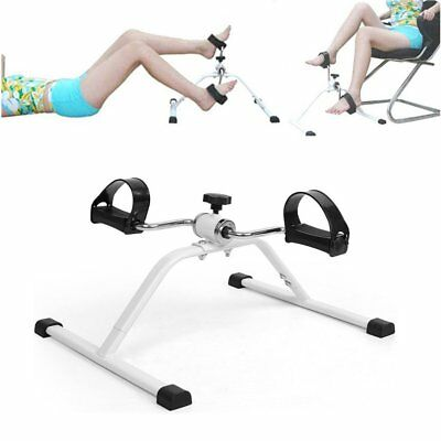 Mini Exercise Bike Arm Leg Resistance Cycle Pedal Exerciser Workout Seat Fitness