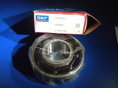 SKF 3309 A/C3 Ball Bearing 45mm ID 100mm OD New In Box