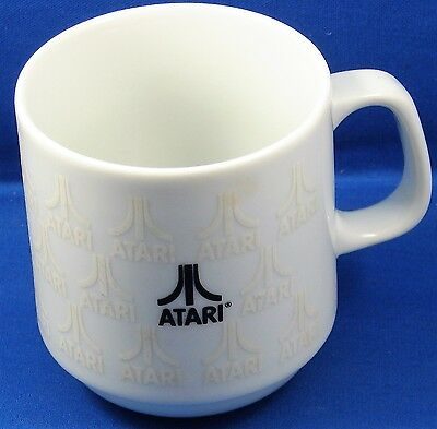 Atari Coffee Mug Cup Computer Advertising Vintage