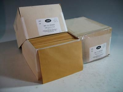2 Boxes (500 Each Box) - Kraft Film Preservers For 5 X 7 Negatives