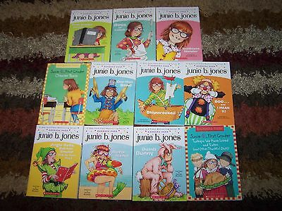 NEW 11 Junie B. Jones 1st First Grader Complete Set Lot Volume 18 - 28 AR