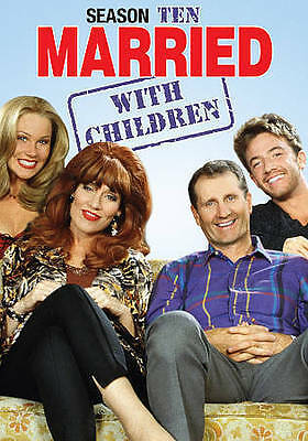 Married...With Children - The Complete Tenth Season (DVD, 2015, 2-Disc Set) NEW