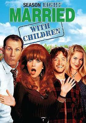 Married...With Children - The Complete Eighth Season (DVD, 2015, 2-Disc Set) NEW
