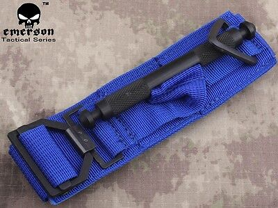Tactical Tournique EMERSON Military Safety Medic Accessories Gear Blue 7866A