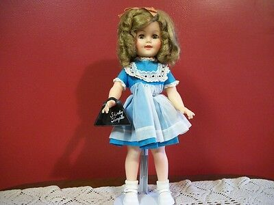 Vintage Shirley Temple From The 1950's By Ideal Tagged Dress