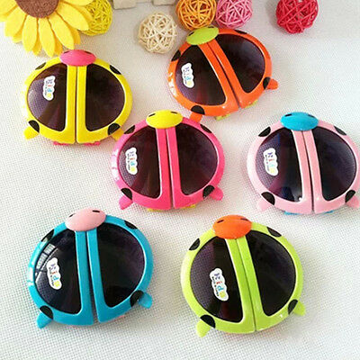 Children Sunglasses Foldable Beetle Boys and Girls Cool Glasses Anti-UV Goggle