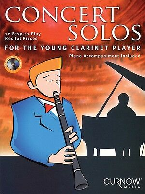 Concert Solos - For The Young Clarinet Player - Clarinet Music Book