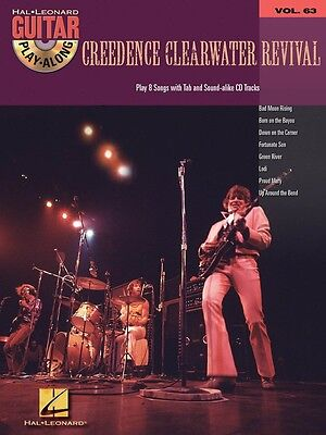 Creedence Clearwater Revival - Guitar Play-Along Volume 63 Music Book with CD