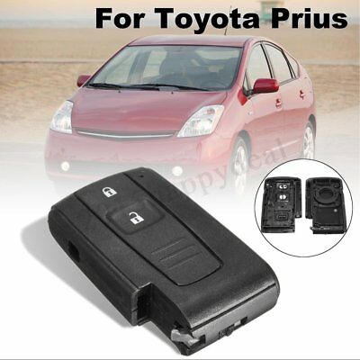 2 Buttons Remote Key Keyless Case Fob Shell For Toyota Prius Corolla Verso -UK