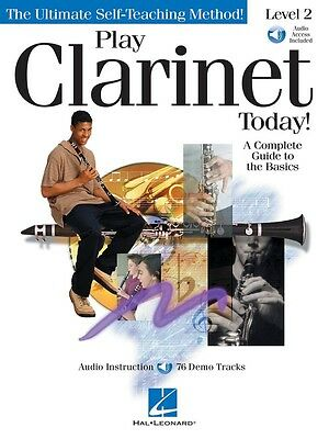 Play Clarinet Today! - Level 2 - Clarinet Music Book with Audio Access