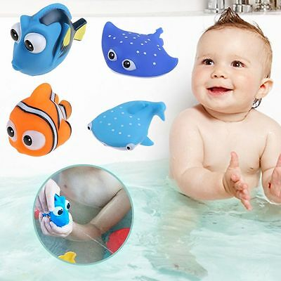 Baby Bath Toys Nemo Dory Kids Baby Play Time Shower Squirt Swimming Bath Toy