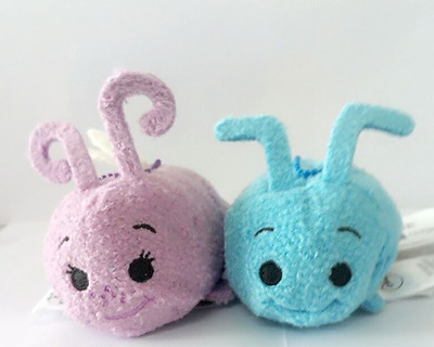 Hot Disney TSUM TSUM A Bug's Life Mini Flik Ant Dot Insect Plush Toys With Chain