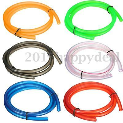 Universal Motorcycle Fuel Line Petrol Pipe 5mm I/D x 8mm O/D 1m Length oil Hose