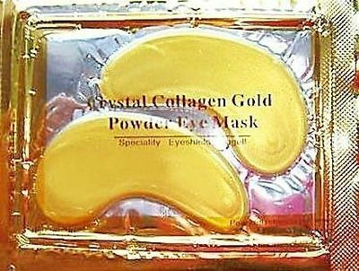 5 Pair Collagen EYE Masks Crystal GOLD Premium Eye Anti Ageing Wrinkle Skin Care