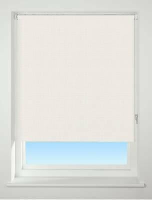 EASY FIT – Texture Neutral Thermal BLACKOUT Trimmable,  Roller Blind / Blinds...