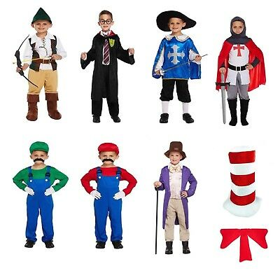 Boys Toddler Fancy Dress Outfit Costume Dressing Up Party World Book