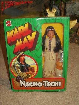 Big Jim - Karl May - NSCHO-TSCHI - OVP ! Mattel 2173- native Indian Maiden