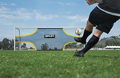 SKLZ Goalshot Soccer Shooting Finishing Trainer 24' x 8' Official Size Goal Gift