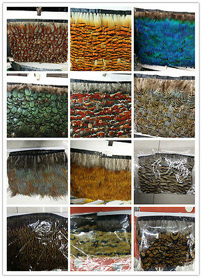 Wholesale 1-10 yards beautiful variety of styles DIY decorative ribbon feather
