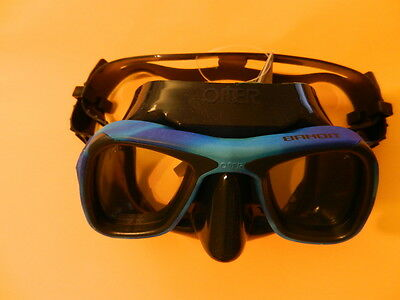 ~ ~ ~  OMER Mask Bandit- Freediving and Spearfishing Mask Ocean Mimetic ~ ~ ~