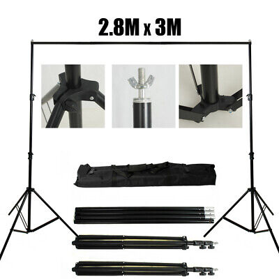 UK 1350W Photography Studio Softbox Continuous Lighting Soft Box Light Stand Set