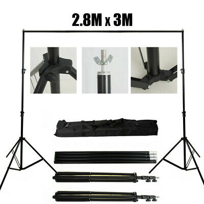 UK 2200W Photography Studio Softbox Continuous Lighting Soft Box Light Stand Set