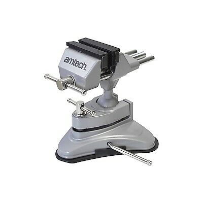 Table Vice Suction Portable Clamp Bench Vise Hobby Electronics Craft 70mm Jaw