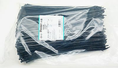 1000 PC Bag Panduit Dome-top Barb Ty 15.1in / 384mm Nylon Cable Zip Ties BT4S-M0
