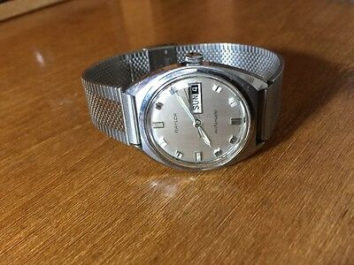 Vintage Baylor Men's Automatic Day/date Watch Swiss Made