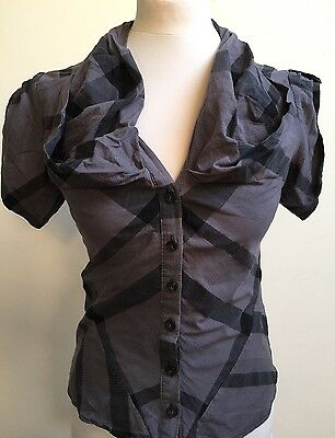 ALL SAINTS Women's Ladies CUPID Shirt Blouse  Size UK 10