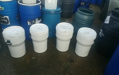 50L Litre Screw Top Plastic Barrel, Keg, Drum  storage container Side Handles.