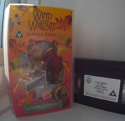 Wind in the Willows - Autumn Antics (1988) David Jason, Peter Sallis VHS Video