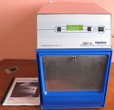 Andersen Anprolene AN-74i Gas Sterilizer Decontamination with Low 38 Pump Hours