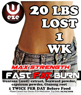 Strong Fat Burner  Weight Loss Tablets New  Diet Slimming Pills Buy 2 Get 1 Free
