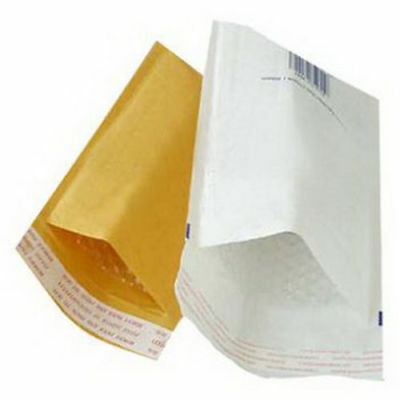 Padded Bubble Envelopes Bags Postal Wrap - All Sizes - Various Quantites Gold